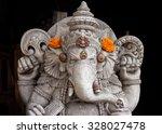A Statue Of Ganesha In Ubud ...