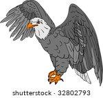 Vector   Bald Eagle Isolated O...