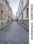 old city of talinn  estonia... | Shutterstock . vector #328072820