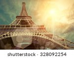the eiffel tower is one of the... | Shutterstock . vector #328092254