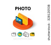 photo icon  vector symbol in...