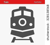 train icon. professional  pixel ... | Shutterstock .eps vector #328138568