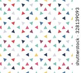triangular background. seamless ... | Shutterstock .eps vector #328139093
