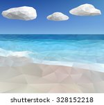 ocean background vector... | Shutterstock .eps vector #328152218