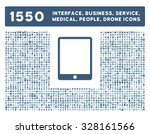 tablet glyph icon. style is... | Shutterstock . vector #328161566