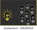 bright ideas | Shutterstock . vector #328185410
