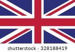 flag of united kingdom | Shutterstock .eps vector #328188419
