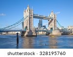 Famous Tower Bridge In London ...