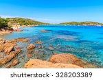 beautiful coast of corsica... | Shutterstock . vector #328203389
