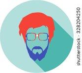 super hero mask glasses... | Shutterstock . vector #328204250