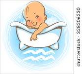 children's horoscope icon. kids ... | Shutterstock .eps vector #328206230