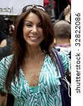 NEW YORK - JUNE 28: Television personality Danielle Staub of The Real Housewives of New Jersey attends the 2009 New York City Gay Pride Parade on  June 28, 2009 in New York City. - stock photo