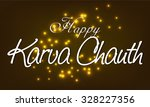 illustration for karva chauth... | Shutterstock .eps vector #328227356