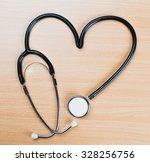 medical stethoscope | Shutterstock . vector #328256756