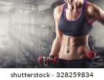 training young sports woman in... | Shutterstock . vector #328259834