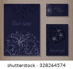 vector set of templates... | Shutterstock .eps vector #328264574