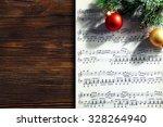 Music And Christmas Decor On...