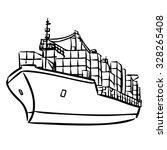 freehand sketch illustration of ... | Shutterstock .eps vector #328265408