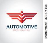 Automotive Logo Wing Logo Bird...