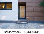 modern house entrance | Shutterstock . vector #328303334