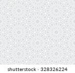 arabesque star pattern  light... | Shutterstock .eps vector #328326224