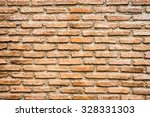 old brick wall textures... | Shutterstock . vector #328331303