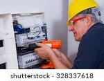 electrician | Shutterstock . vector #328337618