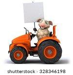 fun sheep   Shutterstock . vector #328346198