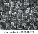 letterpress background  close... | Shutterstock . vector #328348874