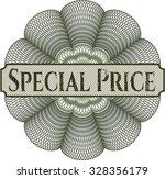 special price rosette | Shutterstock .eps vector #328356179