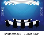 hi technology interface... | Shutterstock .eps vector #328357334