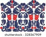 hungarian folk art | Shutterstock .eps vector #328367909