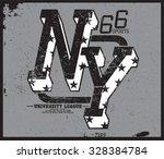 new york t shirt graphic