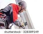 installation of... | Shutterstock . vector #328389149