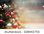 christmas tree background | Shutterstock . vector #328442753