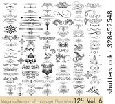 collection of vector... | Shutterstock .eps vector #328452548