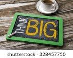 think big | Shutterstock . vector #328457750