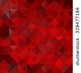red grid mosaic background ... | Shutterstock .eps vector #328477184