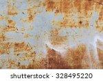 old metal iron rust background... | Shutterstock . vector #328495220