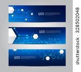 vector design banner network... | Shutterstock .eps vector #328502048