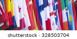 international flags blowing in... | Shutterstock . vector #328503704