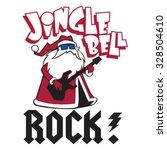 jingle bell rock | Shutterstock .eps vector #328504610