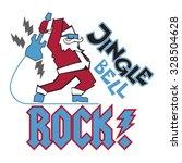 jingle bell rock smash | Shutterstock .eps vector #328504628