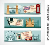 london touristic banner... | Shutterstock .eps vector #328538639