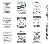 quotes and motivation slogans... | Shutterstock .eps vector #328538648