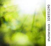 green summer background with...   Shutterstock . vector #328551290