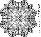 hand drawn background. mandala. ... | Shutterstock .eps vector #328552403