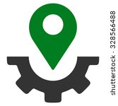 Service Map Marker Vector Icon...