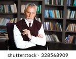 portrait of male psychologist.... | Shutterstock . vector #328568909