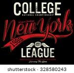 tee graphics college graphics... | Shutterstock .eps vector #328580243